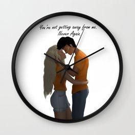 Percabeth Wall Clock