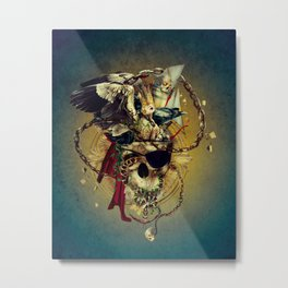 Lost In The Sea Metal Print