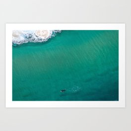 Surfing Day III Art Print