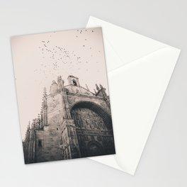 El Convento de San Esteban (B+W) Stationery Cards