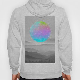 Worlds That Never Were (Geodesic Moon) Hoody
