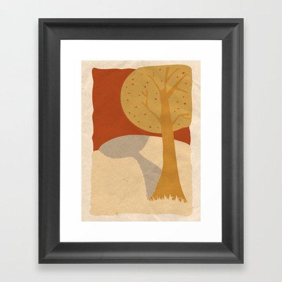 Trees 2 Framed Art Print