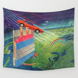 Intergalactic Travel Wall Tapestry