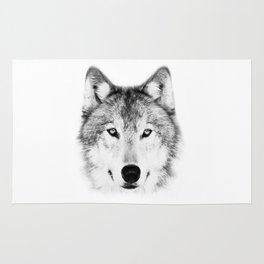 Lone Wolf Rug