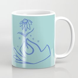 Springtime Magicx Blue Coffee Mug