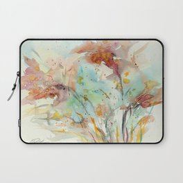 Autumn (abstract watercolor) Laptop Sleeve
