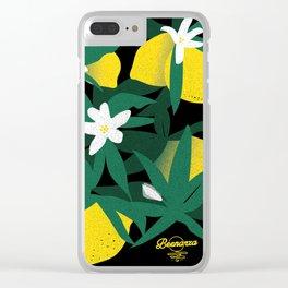 Kickass Lemonade Clear iPhone Case