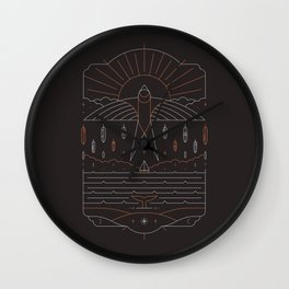 The Navigator Wall Clock