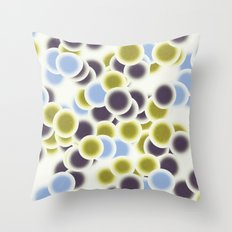 microscopic life 1 Throw Pillow