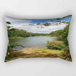 Algonquin Lake Rectangular Pillow