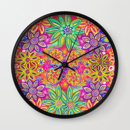 Child of the 60's Wall Clock