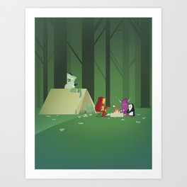 The Nick Yorkers in July Art Print
