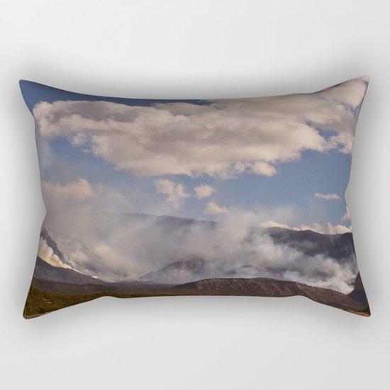 Cedar City Forest Fire - I Rectangular Pillow