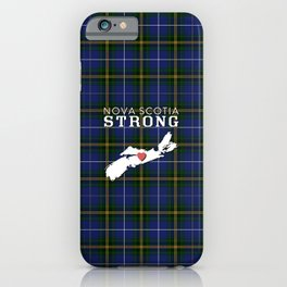Nova Scotia Strong iPhone Case