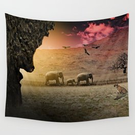 Stalking nature Wall Tapestry