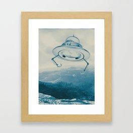 UFO III Framed Art Print