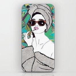 Lip gloss iPhone Skin
