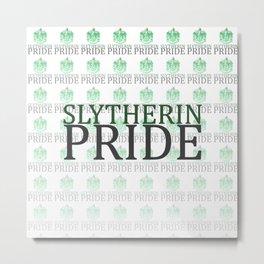 Slytherin Pride Metal Print