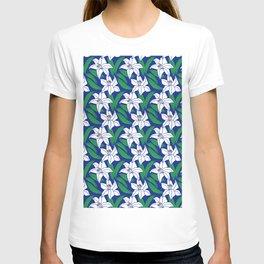 Japanese Floral Pattern 02 T-shirt