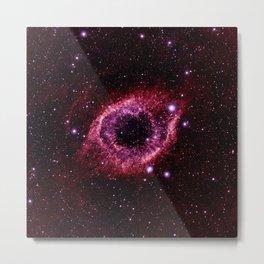 Magenta Pink helix nebula Metal Print