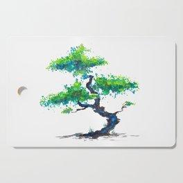 Blue Bonsai Cutting Board