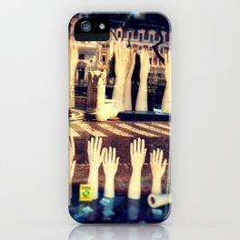 In the hands of absence iPhone Case