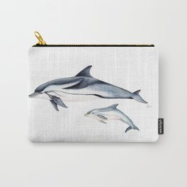 Striped dolphin Carry-All Pouch