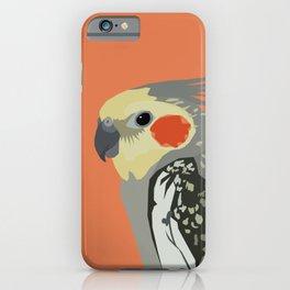 Marcus the cockatiel iPhone Case