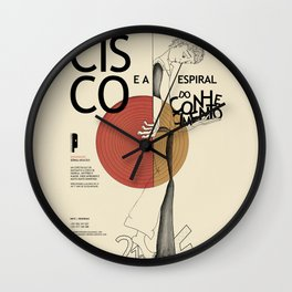 Cisco & The spiral of knowledge Wall Clock