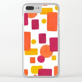 Colorplay No. 1 Clear iPhone Case