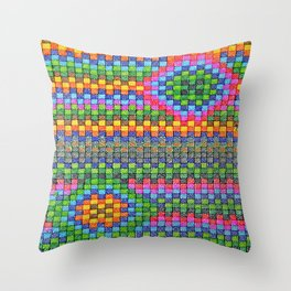 Triangle Beauty Throw Pillow
