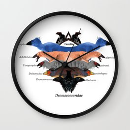 Dinosaur Family Wall Clock