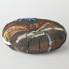 LOCKED IN Floor Pillow