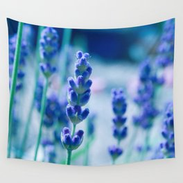 A Touch of blue - Lavender #1 Wall Tapestry