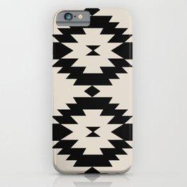 Southwestern Minimalism - Black iPhone Case