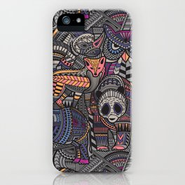 Tribe iPhone Case