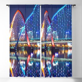 Magnificent Expo Bridge At Gap River Daejeon South Korea Asia Ultra HD Blackout Curtain
