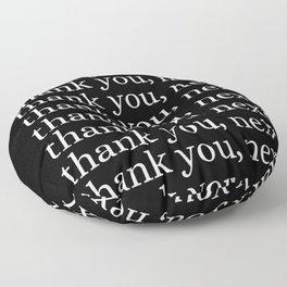 thank you, next Floor Pillow