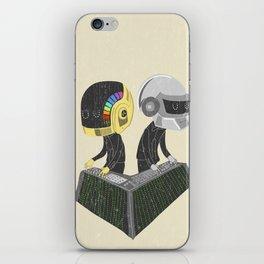 DaftPunk iPhone Skin