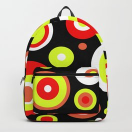 Colorful circles Backpack