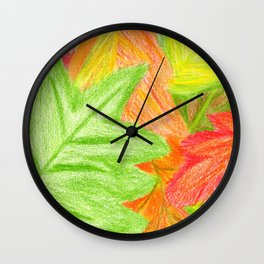 Feelin' Color-Fall Wall Clock