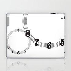 5 6 7 8 Treble Clef Laptop & iPad Skin