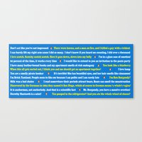 anchorman Canvas Prints featuring Anchorman Quotes by Dr. Spaceman40