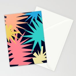 Tropical Geometric Stationery Cards