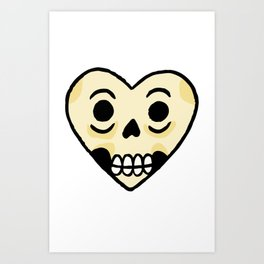 Amor Hueso Art Print