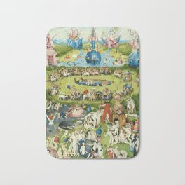The Garden of Earthly Delights by Hieronymus Bosch Bath Mat