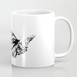 Flying Butterfly Coffee Mug