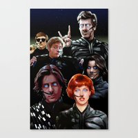 arrakis Canvas Prints featuring Breakfast On Arrakis by Jason Wright