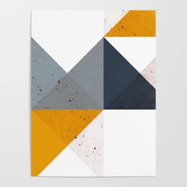 Modern Geometric 19/2 Poster