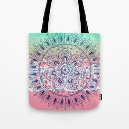 Summer beach bohemian mandala Tote Bag